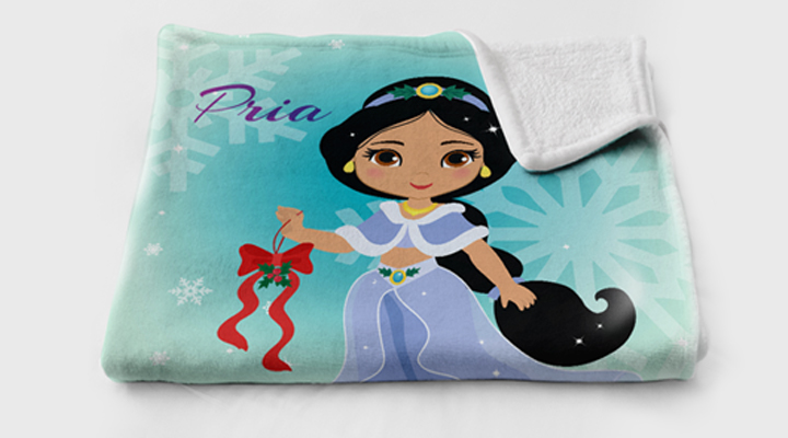 Make your own princess blanket