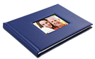 Leather Debossed Photo Books For Dad