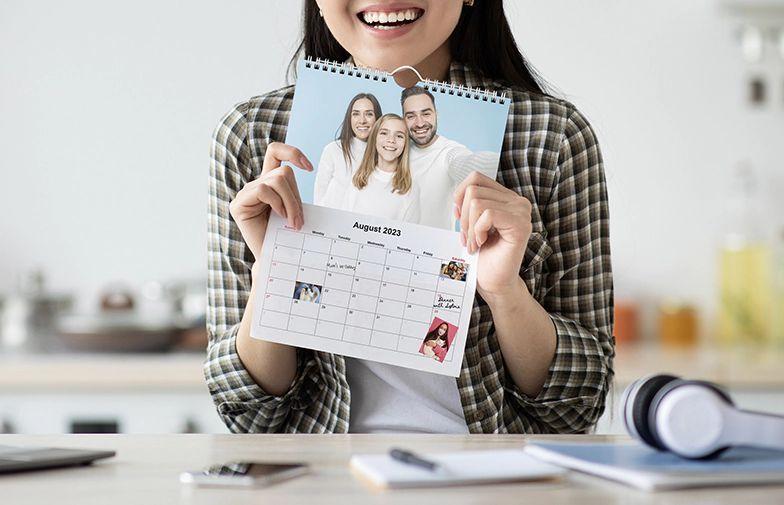 Personalized Calendar 2022.Custom Calendar For 2021 Print Personalized Photo Calendar