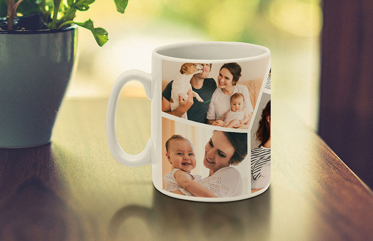 Custom Photo Collage Mug