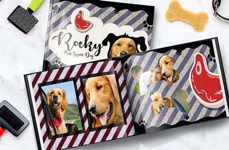09d37c6390ed Soft Cover Dog Book